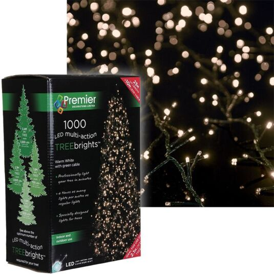1000 Multi-Action LED Tree Brights