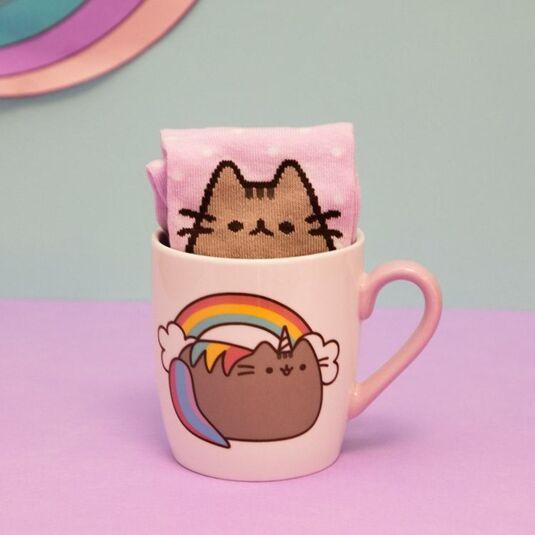 Pink Sock in a Mug