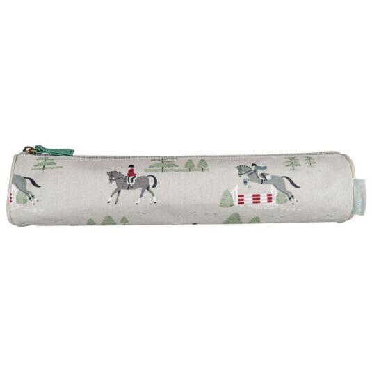 Horses Oilcloth Pencil Case