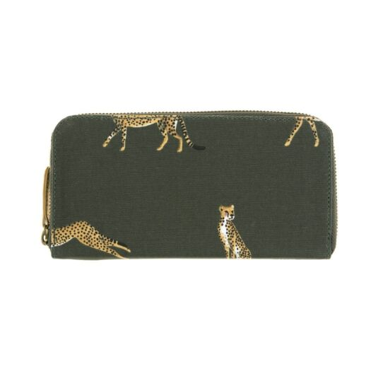 ZSL Cheetah Oilcloth Wallet Purse