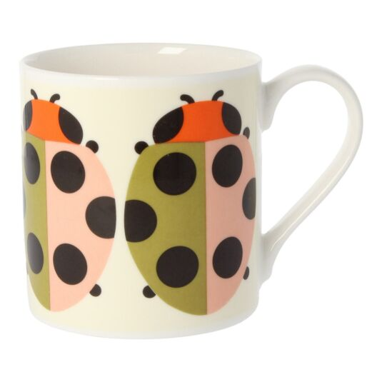 Lady Bug Tomato Large Mug