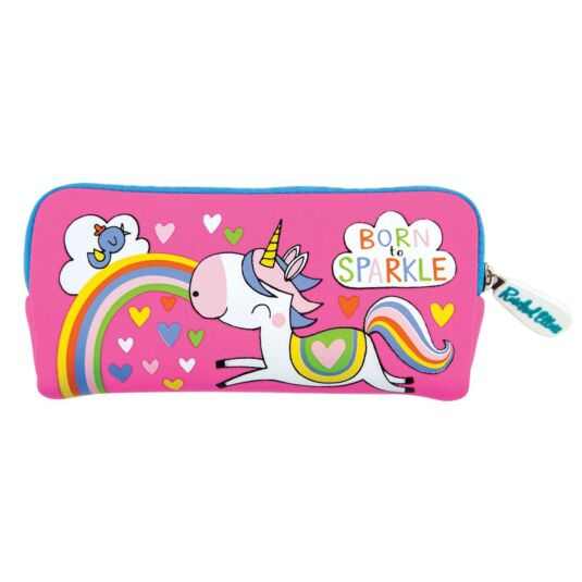 Born To Sparkle Unicorn Pencil Case
