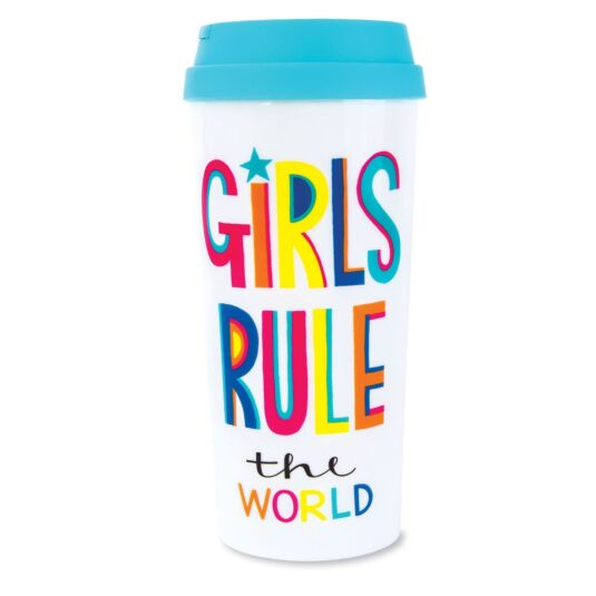 Girls Rule The World Travel Mug
