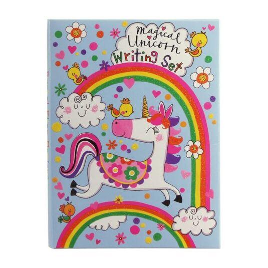 Rainbow Bird Hearts Rachel Ellen Trust That Everything Will Be Ok Card