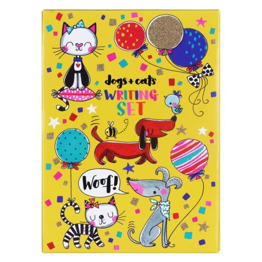Cats & Dogs Writing Wallet
