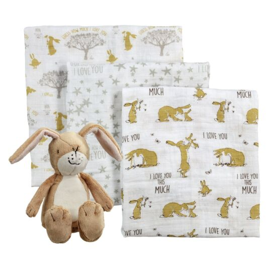 Little Nutbrown Hare Soft Toy and Muslin Gift Set