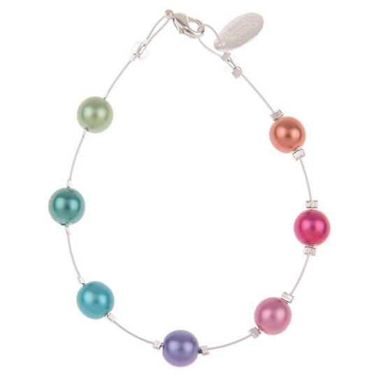 Rainbow Harmony Spaced Bracelet