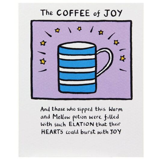The Coffee Of Joy Card