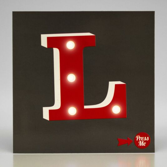 Showtime LED Greetings Card – L