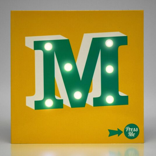 Showtime LED Greetings Card – M
