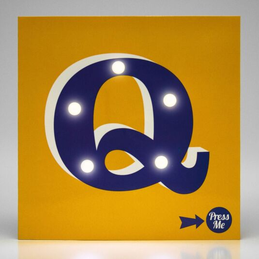 Showtime LED Greetings Card – Q