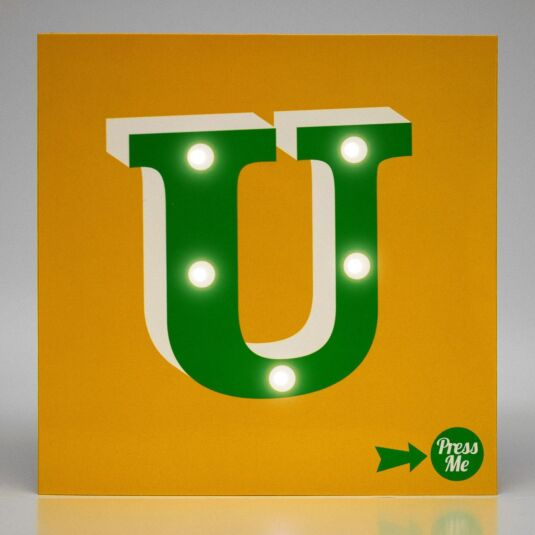 Showtime LED Greetings Card – U