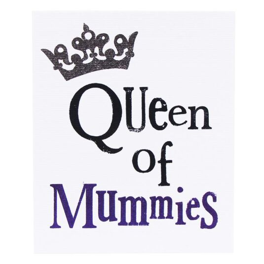 Queen Of Mummies Card