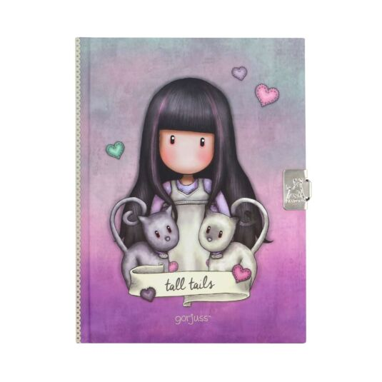 Tall Tails Lockable Notebook Set