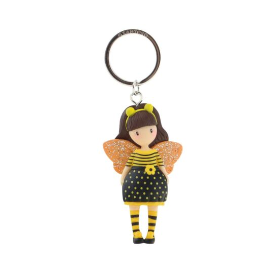 Bee-Loved Moulded Keyring