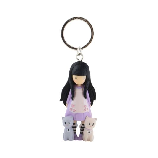 Tall Tails Moulded Keyring