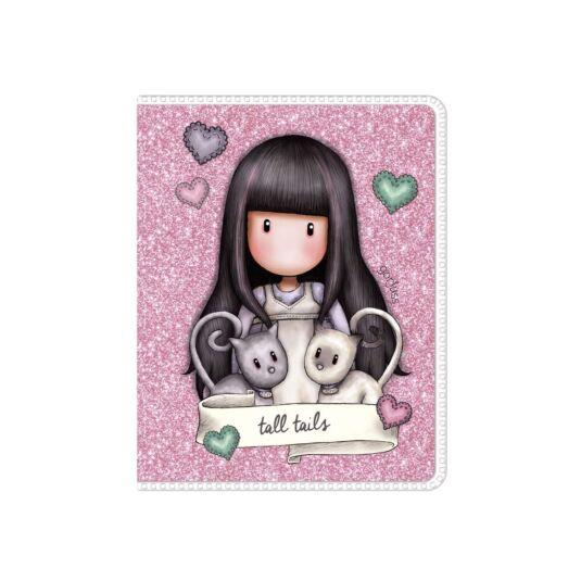 Tall Tails Mini Glitter Notebook