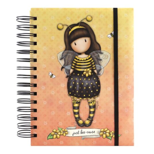 Bee-Loved Organisational Notebook