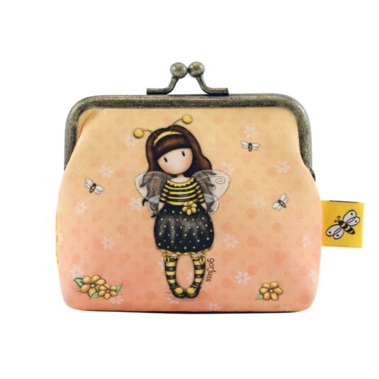 Bee-Loved Clasp Purse