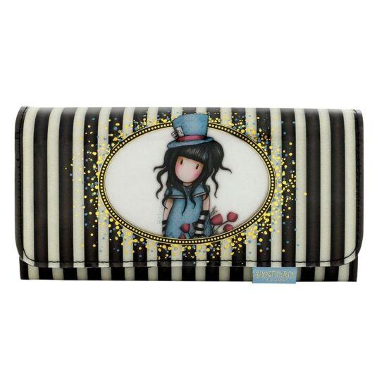 The Hatter Classic Stripe Long Wallet