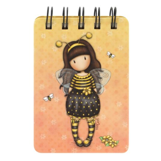 Bee-Loved Mini Wiro-Bound Notebook