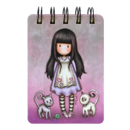 Tall Tails Mini Wiro-Bound Notebook