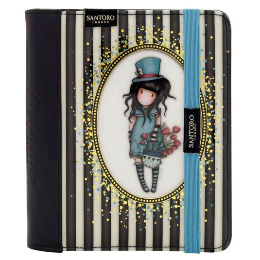 The Hatter Classic Stripe Organiser Journal