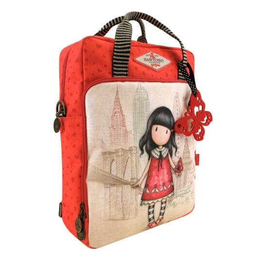 Cityscape Time To Fly Backpack Shoulder Bag