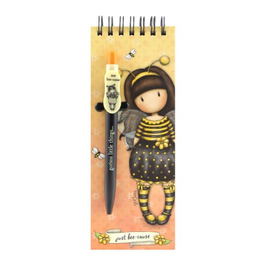 Bee-Loved Jotter Pad with Pen