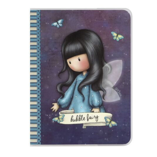 Bubble Fairy A6 PVC Frosted Cover Notebook