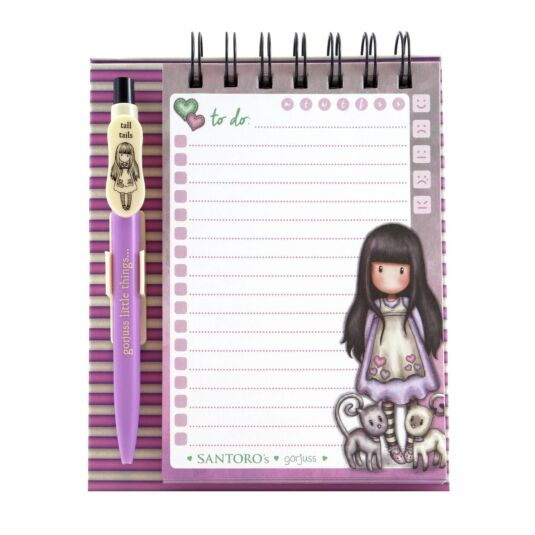 Tall Tails Standing Memo Pad with Pen