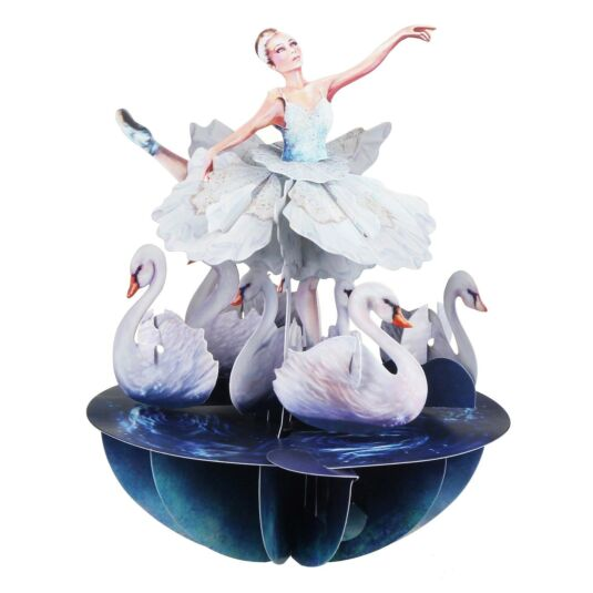 Pirouettes Card – Swan Dancer