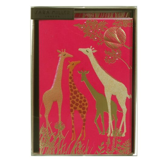 Giraffes Set of 10 Notecards