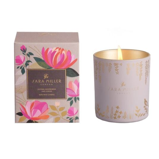 Jasmine, Lemongrass & Ginger Soya Wax Candle