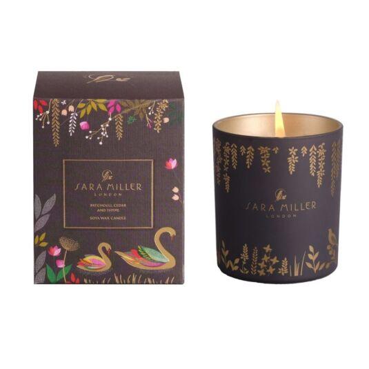 Patchouli, Cedar, & Thyme Soya Wax Candle