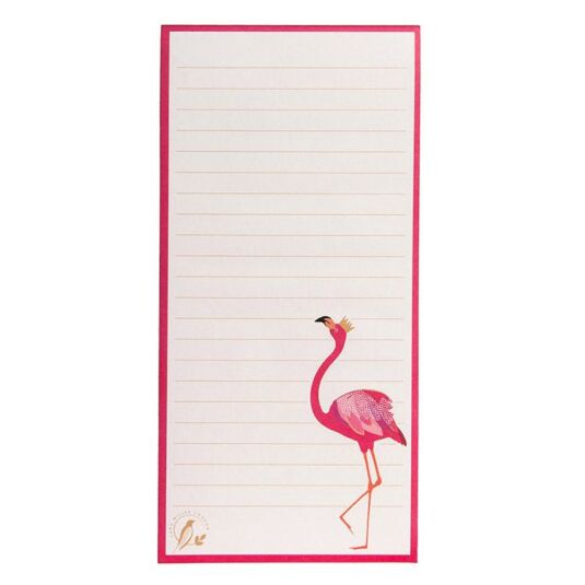 Flamingo Slim Magnetic Jotter