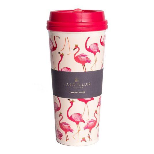 Flamingo Thermal Travel Mug