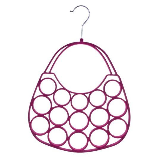 Pink Handbag Scarf Holder