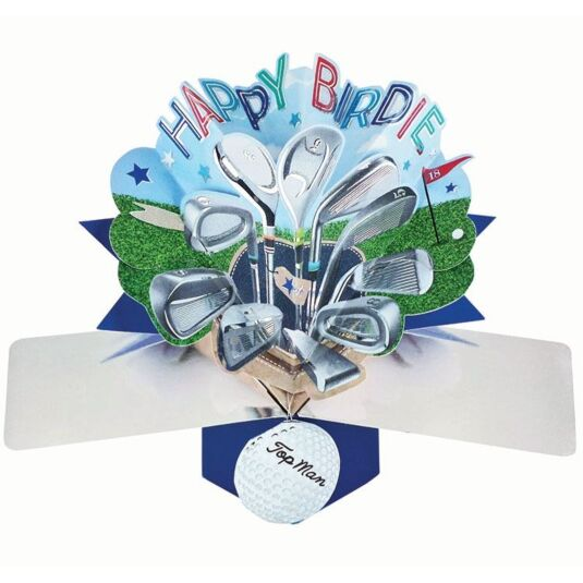 'Happy Birdie' Pop Up Card