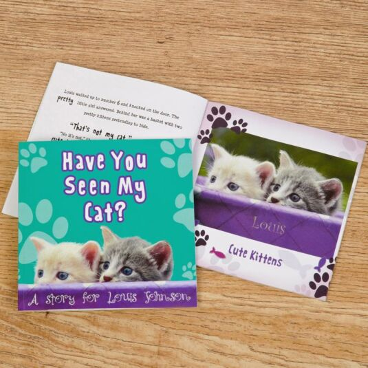 Have You Seen My Cat? Personalised Children's Book