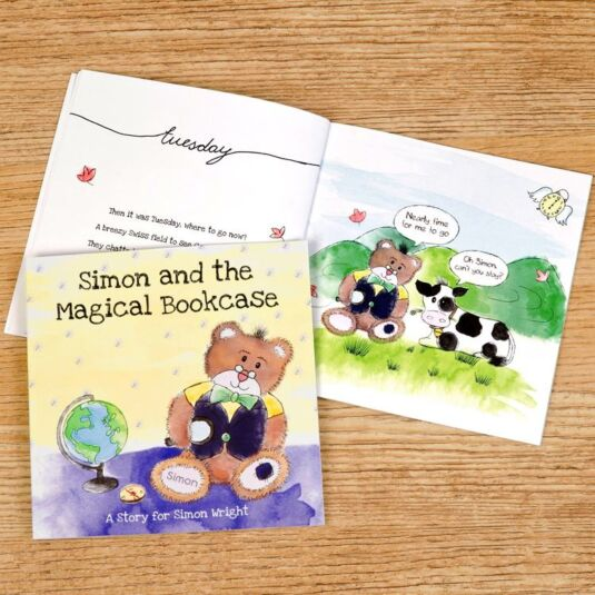 The Magical Bookcase Personalised Children's Book