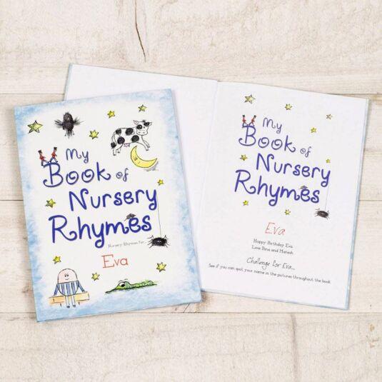 My Book of Nursery Rhymes Personalised Children's Book