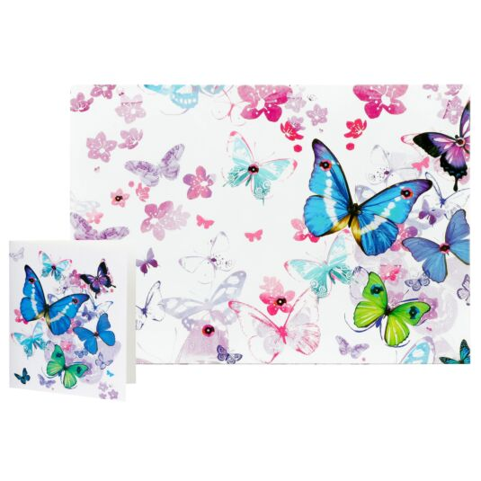 Simon Elvin Butterfly Traditional Gift Wrap