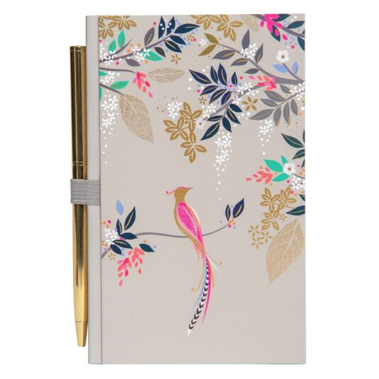 Bird of Paradise Notebook and Pen