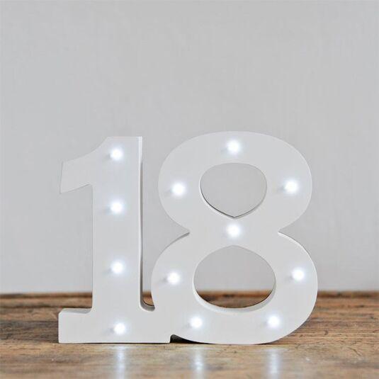 LED Number - 18