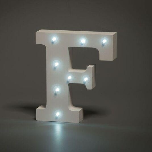 LED Alphabet Letter - F