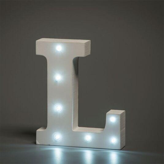 LED Alphabet Letter - L