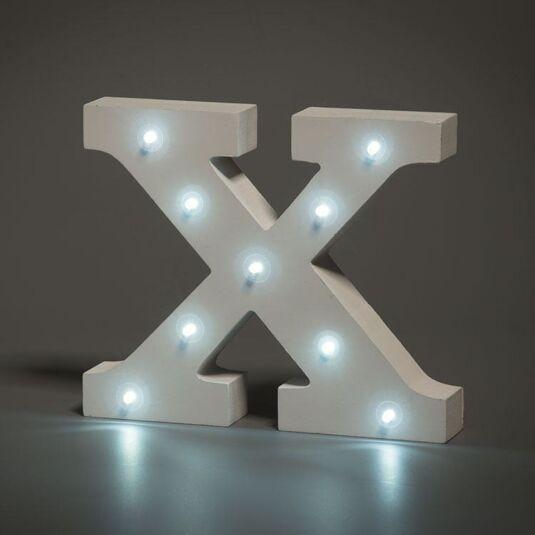 LED Alphabet Letter - X
