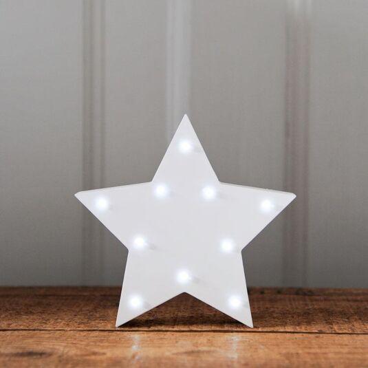 LED White Star