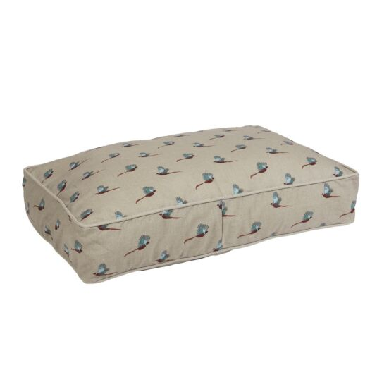 Pheasant Mattress Dog Bed - Small